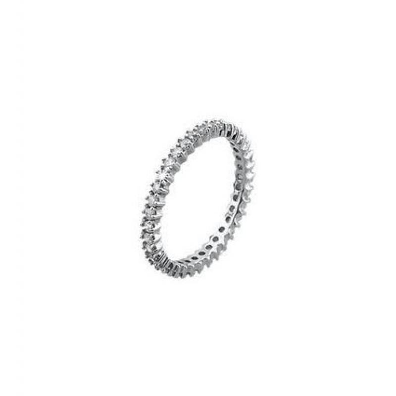 Anello 2 jewels infinity
